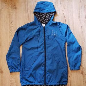 Dutch Bros Rain Coat-Reversible!